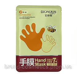 Маска-перчатки для рук BioAqua Honey Hand Mask