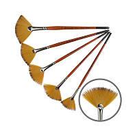 Синтетика веерная, Carrot 1097FN, № 6, к.р. кисть KOLOS