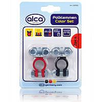 """Акумуляторні клеми кольорові """"Polklemmen"""" Alca, 2шт, 509100"""