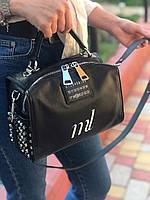 Женская кожаная сумка через плечо Polina & Eiterou
