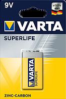 Батарейка солевая Varta Superlife крона 6F22 9V (блистер)