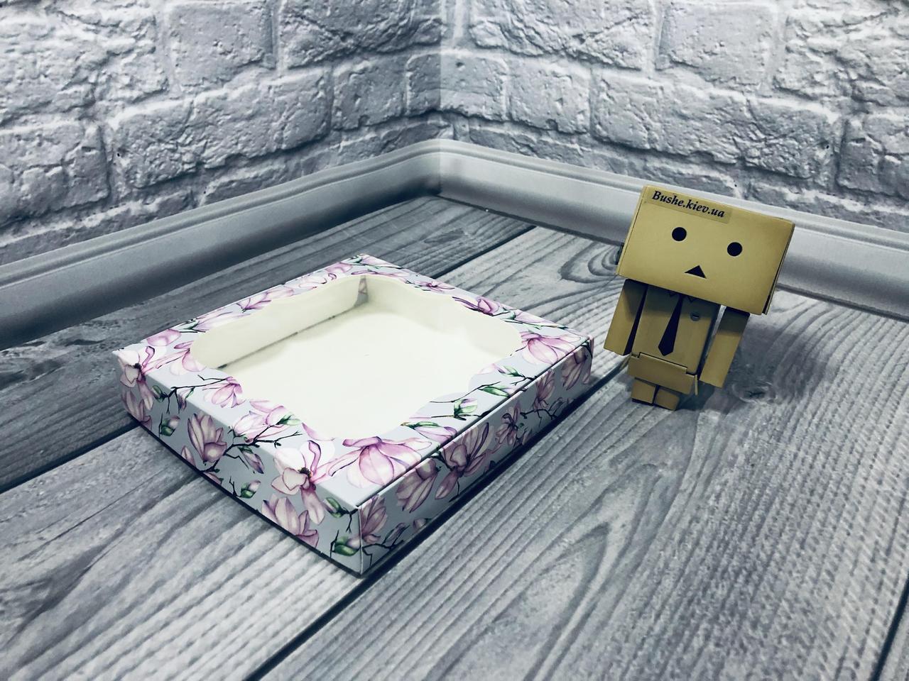 *10 шт* / Коробка для пряников / 150х150х30 мм / печать-Магнол / окно-обычн / лк / цв