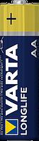 Батарейка щелочная Varta Longlife Alkaline LR6 AA пальчиковая (блистер)