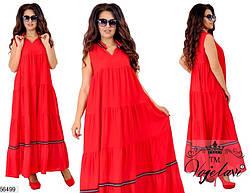 Платье летнее женское,длинное, фото 2