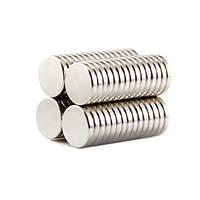 Магниты неодимовые сильные 12x2мм N35 10 шт (z04011)