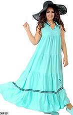 Платье летнее женское,длинное, фото 3