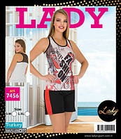 LADY LINGERIE Майка+шорты 7456