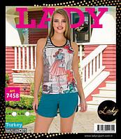 LADY LINGERIE Майка+шорты 7458