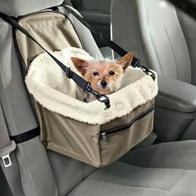 Сумка для животных в авто PET BOOSTER SEAT автомобильная сумка для транспортировки собак и котов (NA60)