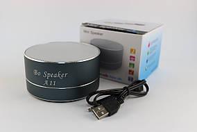 Портативная колонка Atlanfa BO-A11 с USB + SD + Blueеtooth + FM-приемник (NA480)