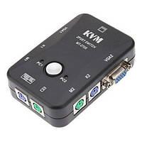 2-портовый KVM свич переключатель PS/2 (z01111)