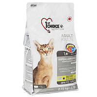1st Choice (Фест Чойс) Adult Hypoallergenic Утка и батат гипоаллергенный корм для кошек 350 г