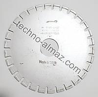 Алмазный отрезной круг 1A1R 315 4.4 7.5 63 зерно 500/400 (природный алмаз)