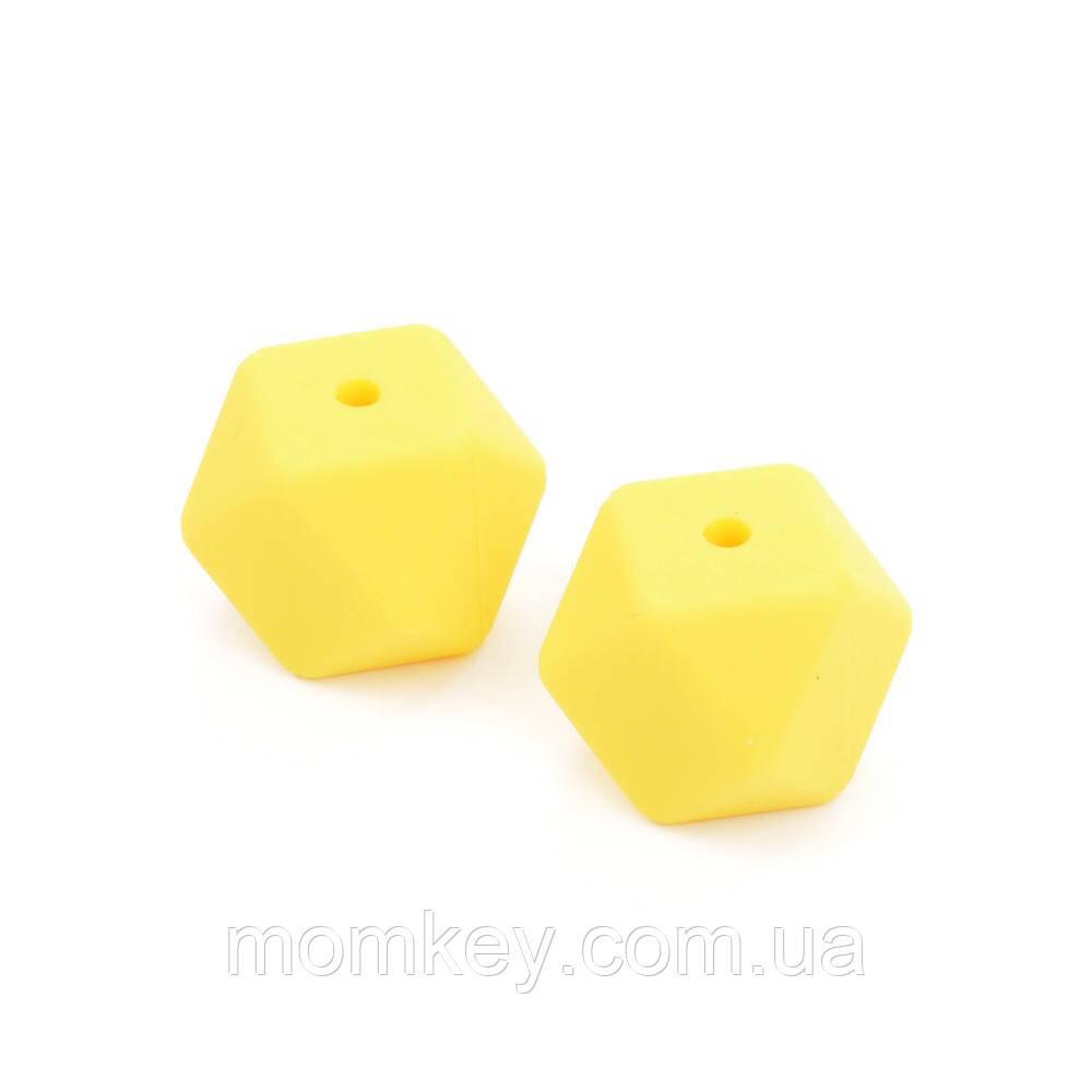 Шестикутник 14 мм (жовтий)