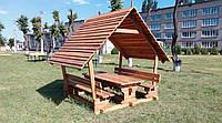Строительство деревянных беседок, фото 1