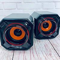 Компьютерные колонки акустика 2.0 A8