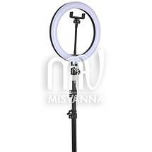 Лампа напольная кольцевая со светодиодной подсветкой LB-52 OLY на штативе, фото 2