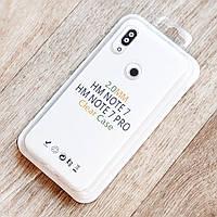Прозрачный силиконовый чехол для Xiaomi Redmi Note 7