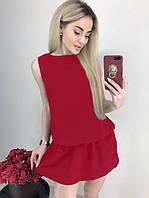 "Летний сарафан женский ""Анита""| Распродажа модели| Распродажа модели 46-48, Красный"