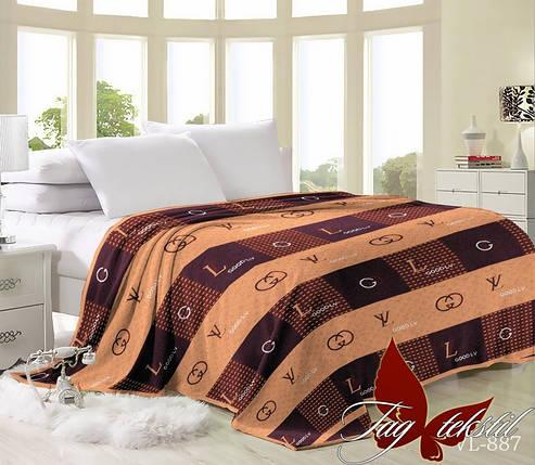 Плед покрывало 200х220 велсофт Good LV на кровать, диван, фото 2