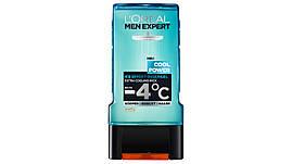 Гель для душа L'ORÉAL Men Expert Cool Power - 4°С, 300 мл.