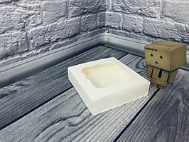 *50 шт* / Коробка для пряников / 120х120х30 мм / Молочн / окно-обычн