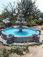 """Фонтан """"Жемчужина"""" в большом бассейне, фото 1"""