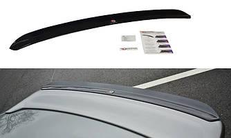 Накладка на спойлер сабля козырёк тюнинг Infiniti G35 Coupe