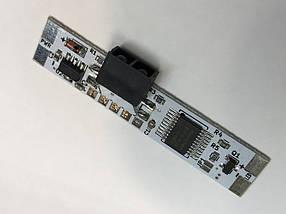 Оптический датчик отражения щелевой боковой для LED ленты (профиля) SL314.1 12-24V 3А Код.59606