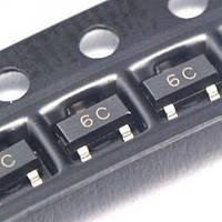 Чип BC817-40 SOT23 6C транзистор биполярный NPN (z04207)
