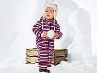 Детский зимний комбинезон Lupilu на девочку 6-12 мес, рост 74/80