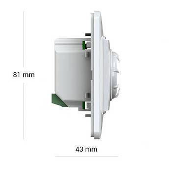 Терморегулятор Terneo rol  для инфракрасных обогревателей и панелей, фото 2