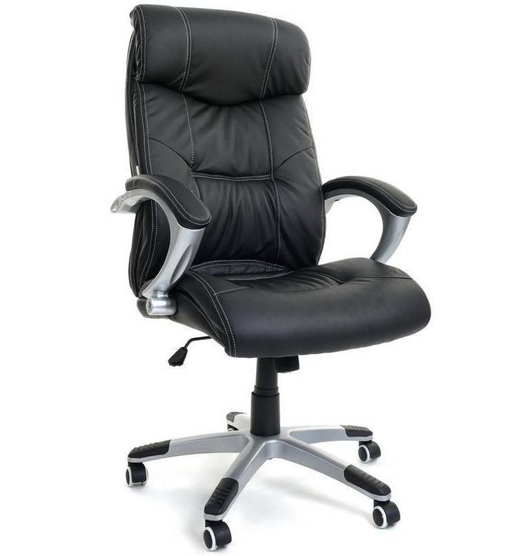 Офисное компьютерное кресло ZigZag 5245 для офиса, дома черное (офісне комп'ютерне крісло для офісу, дому)