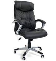 Офисное компьютерное кресло ZigZag 5245 для офиса, дома черное (офісне комп'ютерне крісло для офісу, дому), фото 1