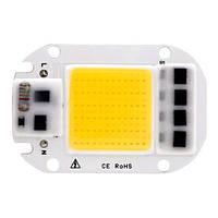 Светодиодная матрица с драйвером COB LED 50Вт 4500лм 220В тепл белая (z04525)