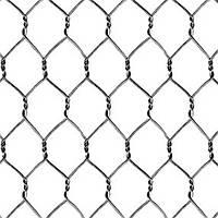 Сетка крученая манье ПВХ. 50х50 2,0(1,2)мм/1,5*30м