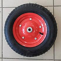 Колесо 3.50 -8 TT (камерное, ось d-16мм ), фото 2