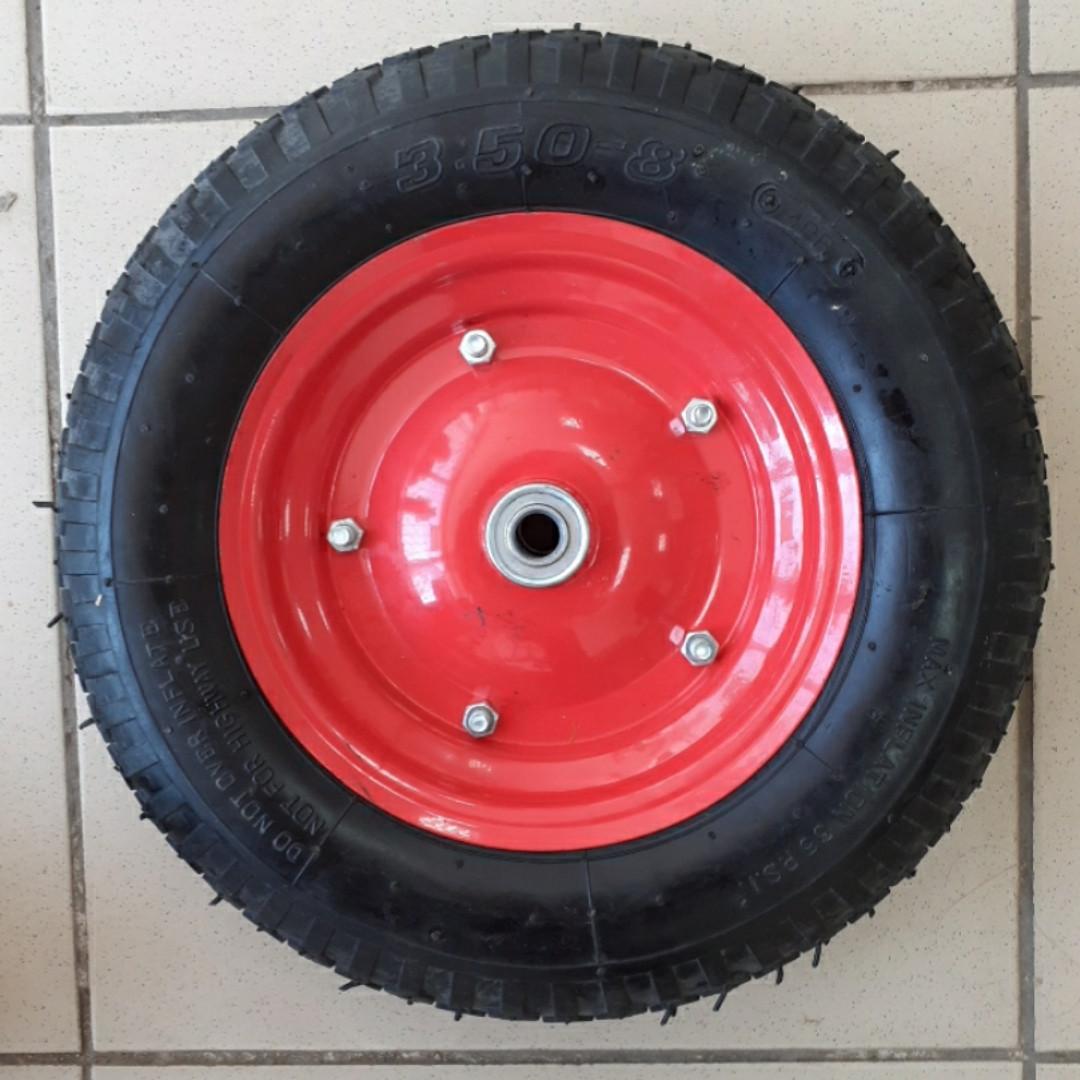 Колесо 3.50 -8 TT (камерное, ось d-16мм )