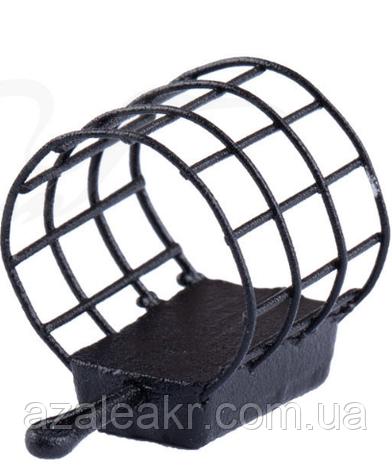 Кормушка Brain фидерная XS 3x10 ячеек крашенная (ц:черный) 20g, фото 2
