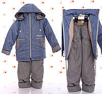 Детский осенний костюм из плащевки для мальчика