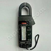 Клещи токоизмерительные аналоговые SUNWA 2805 AC600A AC600В 2кОм (PR1638)