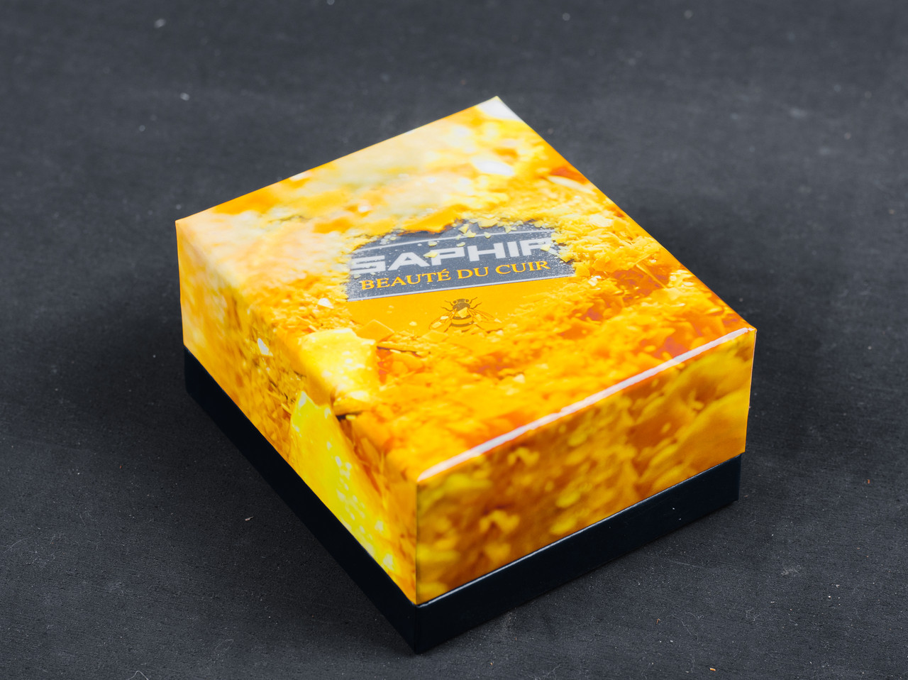Подарочная коробка Saphir Wax Box Small, маленькая, 99х113х58 мм (2970)