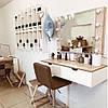 Навесное визажный столик с зеркалом, фото 2