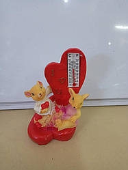 Сувенир мышь с термометром
