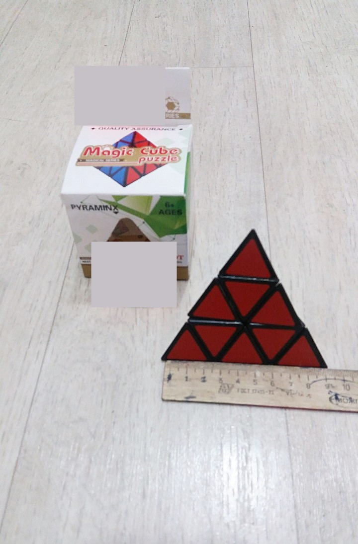 Игрушка кубик-рубик треугольный