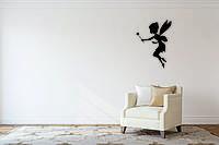 Деревянный декор на стену WHICH.BLACK Фея (75x54 см)