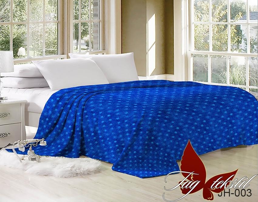 Плед покрывало 200х220 велсофт Звездное небо на кровать, диван