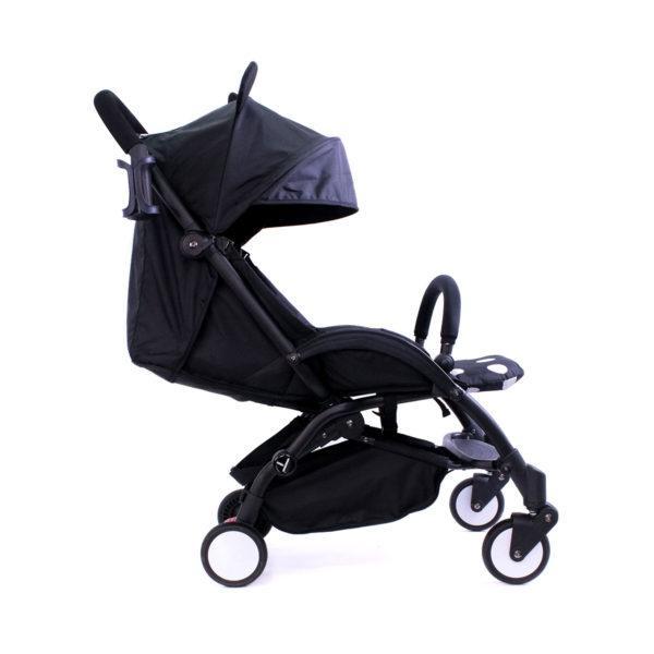 Детская коляска Микки YOYA Premium черная рама