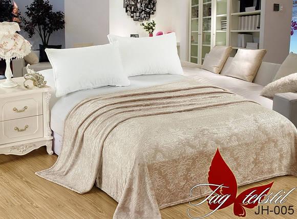 Плед покрывало 200х220 велсофт Пудра на кровать, диван, фото 2