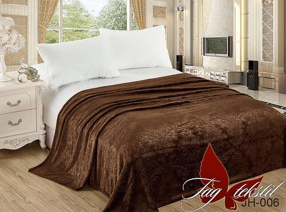 Плед покрывало 200х220 велсофт Шоколад на кровать, диван, фото 2